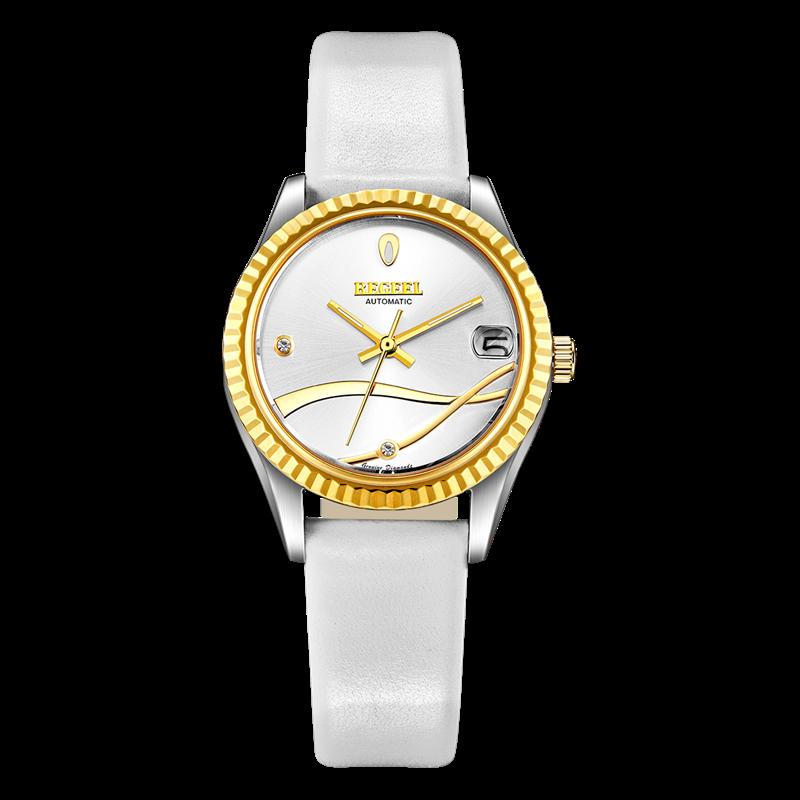 BEGEEL宾爵水玲珑真钻机械腕表