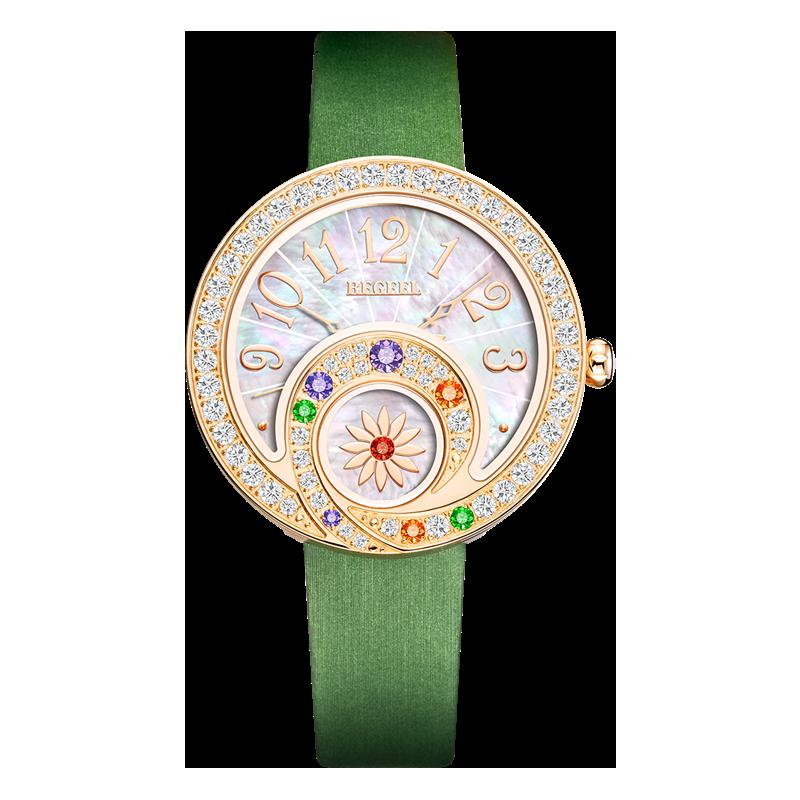 BEGEEL宾爵花仙子女士石英腕表