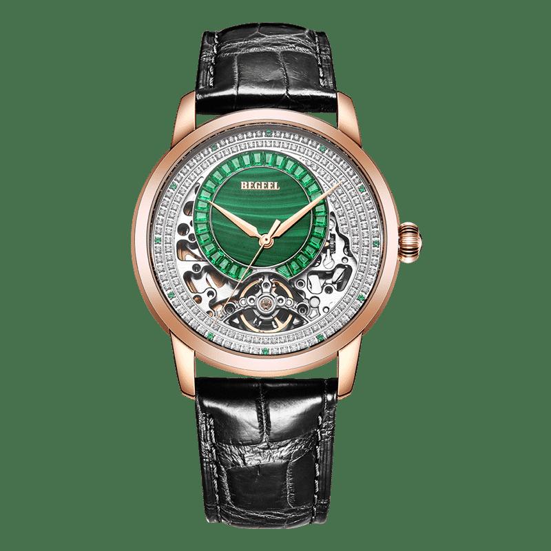 BEGEEL宾爵绿森王男士机械腕表