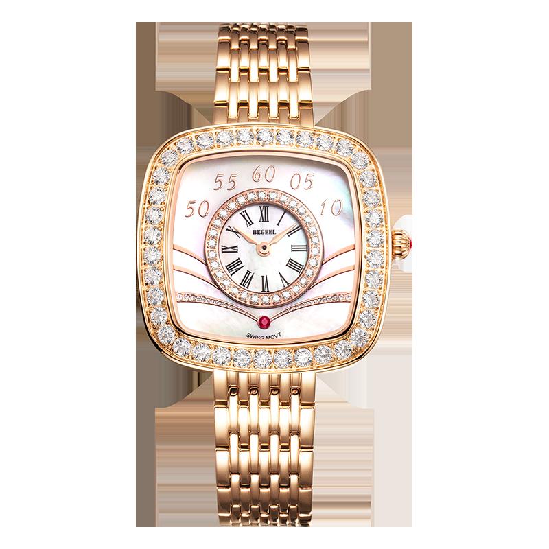 BEGEEL宾爵小明珠女士石英腕表