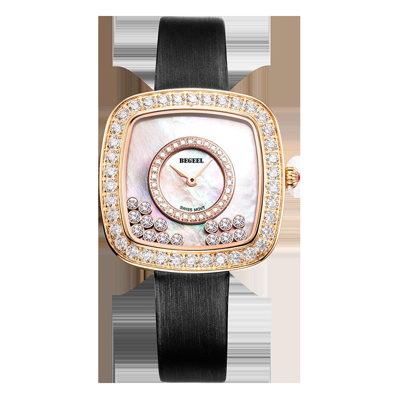 BEGEEL宾爵雪之舞女士石英腕表
